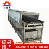 钝化压铸铝气阀履带式超声波清洗机